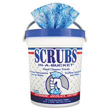 Scrubs Hand Cleaner Towels Wipes 10x12 i ITW42272