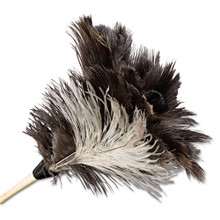 Boardwalk BWK13FD Ostrich Feather Duster 13 inch gray