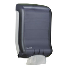 San Jamar SJMT1700TBK paper hand towel dispenser cfold or mu