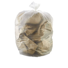 Ibs ibss366017n 55 gallon trash bags case of 200 natural 36x
