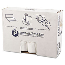 Ibs ibss404816n 45 gallon trash bags case of 250 natural 40x