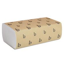 Boardwalk BWK6200 paper hand towels multifold white 9x