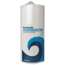 Boardwalk BWK6272 paper towels perforated 2 ply white