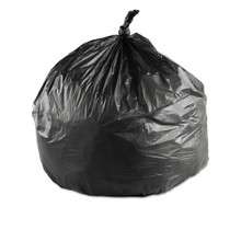 Ibs ibsec243306k 15 gallon trash bags case of 1000 black 24x
