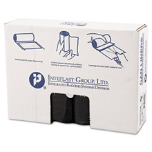 Ibs ibss334016k 33 gallon trash bags case of 250 black 33x40
