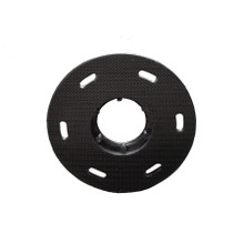 Mercury Low Boy Floor Buffer Pad Holder Black Micro Hook Sty