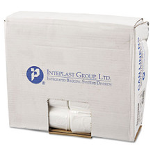 Ibs ibsec243306n 15 gallon trash bags case of 1000 clear 24x