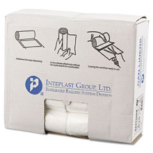 Ibs ibss243306n 15 gallon trash bags case of 1000 clear 24x3
