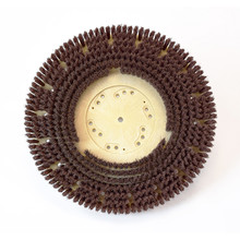 Floor scrubber brush .018 nylon 500 grit Malgrit Lite 8134184148pmb with 4148pmb clutch plate for 20 inch Kent Razor 18 inch block replaces l08837067 by Malish