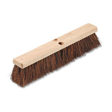 Boardwalk BWK20118 push broom 18 inch hardwood block p