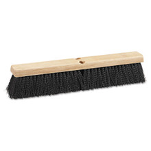 Boardwalk BWK20618 push broom 18 inch hardwood block p
