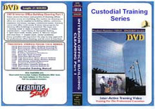 Custodial Training Series Kit a complete set with 13 videos