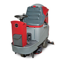 Betco DRS26BT rider floor scrubber E2992700 with pad holders