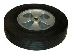 Rubbermaid FG1014L30000 tilt truck part 12 inch wheel kit in