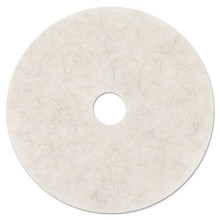 3M 3300 Natural Blend White floor pads MMM18210 20 inch