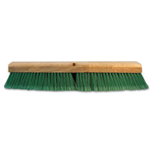 Boardwalk BWK20724 push broom 24 inch hardwood block g
