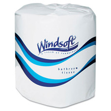Windsoft WIN2400 standard roll bathroom tissue 2 ply 400 she