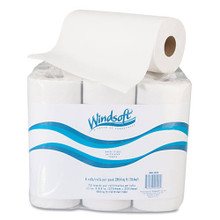 Windsoft WIN2420 paper towels recycled perforated 2 ply