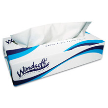 Windsoft WIN2430 facial tissue 2ply 100 tissues per box