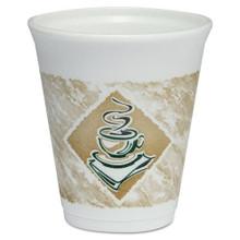 Cafe G Design Printed Foam Cups 8oz Cups DCC8X8G
