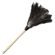 Boardwalk BWK23FD Ostrich Feather Duster 23 inch gray