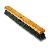 Boardwalk BWK20424 push broom 24 inch hardwood block f