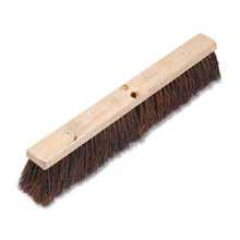 Boardwalk BWK20124 push broom 24 inch hardwood block p