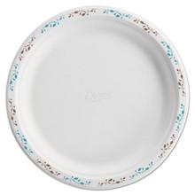 Chinet HUH22519 Paper White Plate Round HUH22519