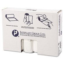 Ibs ibss334016n 33 gallon trash bags case of 250 clear 33x40