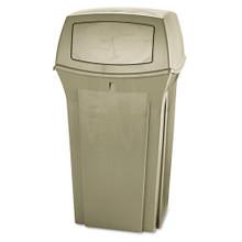 Rubbermaid 843088BEI Ranger trash cans 3 RCP843088BG