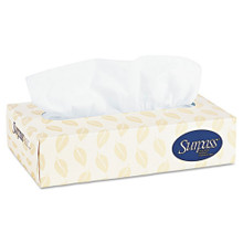 Facial Tissue Surpass Flat Box White 8x8 KCC21390