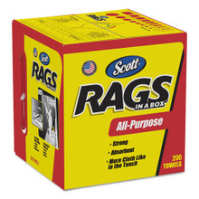 Scott Shop Towels Rag In A Box 10x13 She KCC75260CT