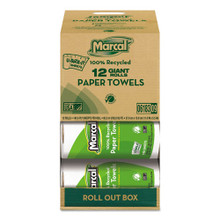 Marcal MRC6183 100 percent recycled roll towels