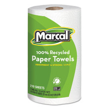 Marcal MRC6210 100 percent recycled roll towels