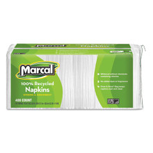 Marcal MRC6506 100 percent recycled luncheon napkins