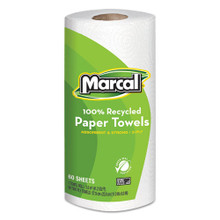 Marcal MRC6709 100 percent recycled roll towels