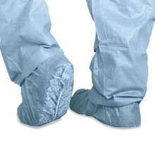 Medline MIICRI2002 polypropylene non skid shoe covers