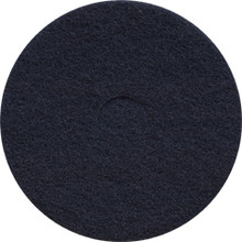 Black Strip Floor Pads 12 inch standard speed up to 350 rpm