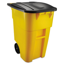 Rubbermaid 9W27YEL trash can 50 gallon s RCP9W27YEL