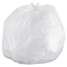 Ibs ibss434816n 56 gallon trash bags case of 200 clear 43x48