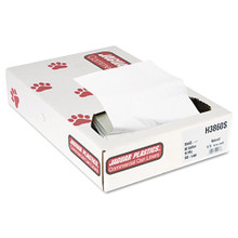 Jaguar jagh3860s 60 gallon trash bags case of 100 natural 38
