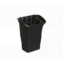 Rubbermaid 335388BLA bus cart refuse bin RCP335388BLA