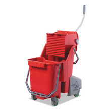 Unger UNGCOMBR SmartColor mop bucket wringer combo COMB