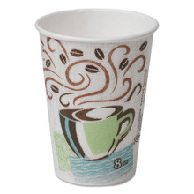 Dixie paper hot cups 8oz Perfect Touch case of 1000 replaces Dix5338cd DXE5338CD