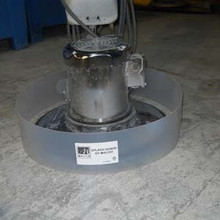 Floor Scrubber Splashguard Ring SWINGSG fits most machi