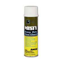 Misty heavy duty glass cleaner nonammoniated foaming action