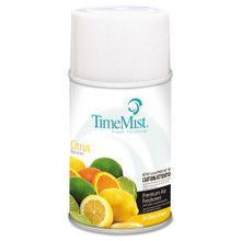 Timemist air freshener refills citrus case of 12 replaces tm