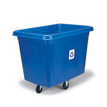 Rubbermaid 461673BLU recycling cube RCP461673BE