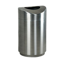 Rubbermaid R2030SSPL trash can steel ecl RCPR2030SSPL