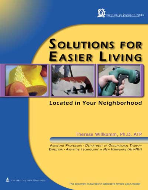 Solutions for Easier Living Located in Your Neighborhood Booklet